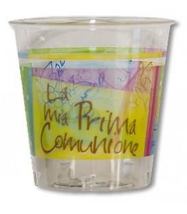 Bicchieri di Plastica Comunione Colorata 300 cc