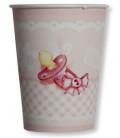 Bicchieri di Carta Eccomi - Baby Rosa 250 cc