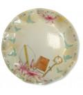 Piatti Piani di Carta a Petalo Cresima - Gigli 27 cm 2 confezioni