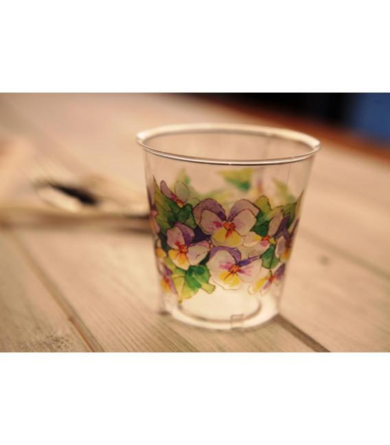 Bicchieri di Plastica Violette 300 cc 3 Confezioni