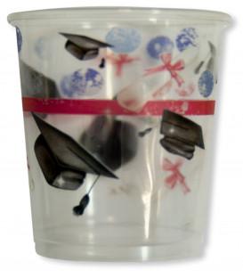 Bicchieri di Plastica Laurea 250 cc