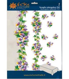 Tovaglia TNT Rettangolare Violette 140 x 240 cm
