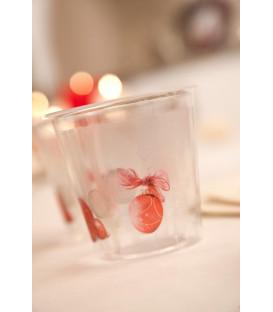 Bicchieri di Plastica Natale Vintage 300 cc 3 Confezioni