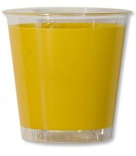 Bicchieri di Plastica Giallo 300 cc