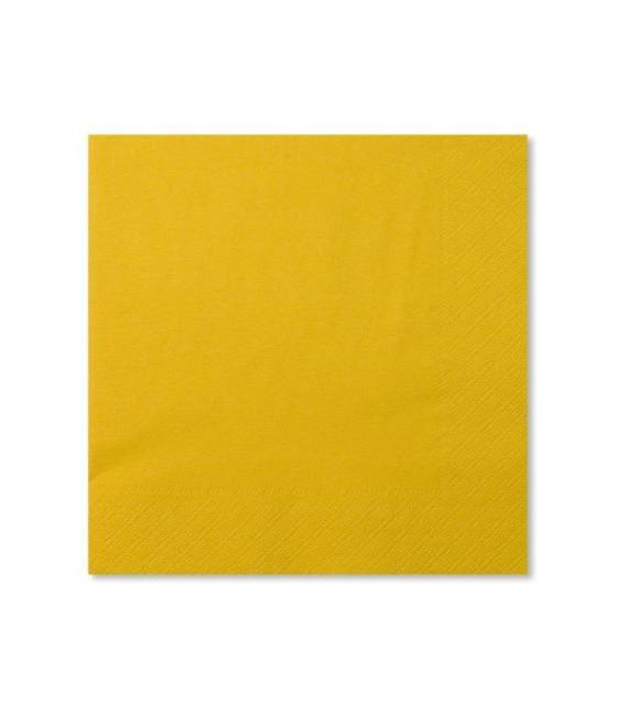 Tovaglioli Giallo 33 x 33 cm 3 confezioni