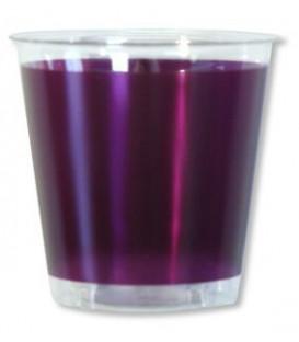 Bicchieri di Plastica Prugna 300 cc