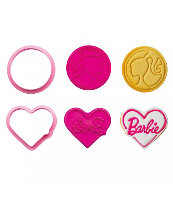 Tagliapasta con Imprimi Decori 2 Pz Barbie