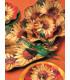 Zuppiera Grande di Carta a Petalo Girasole 35 cm