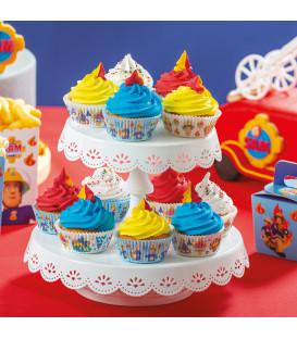 Pirottini - Cupcake Ø 5 cm Stile 2 Sam Il Pompiere 36 Pz