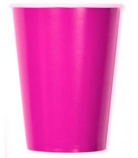 Bicchieri di Carta Rosa 250 cc