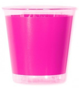 Bicchieri di Plastica Rosa Pink 300 cc