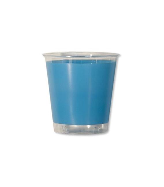 Bicchieri di Plastica Turchese 300 cc