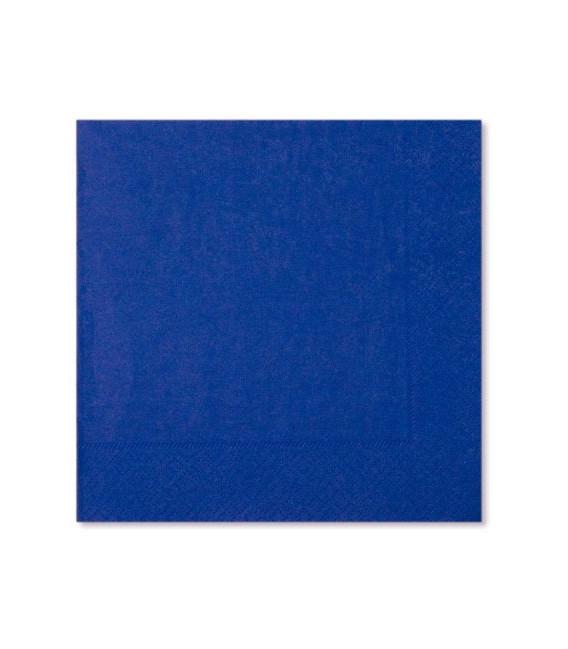 Tovaglioli 3 Veli Blu Cobalto