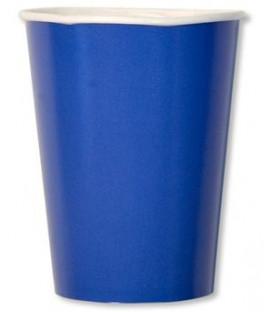 Bicchieri di Carta Blu Cobalto 250 cc