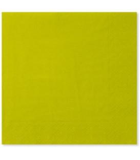Tovaglioli Verde Lime 33 x 33 cm 3 confezioni