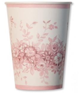 Bicchiere di Carta Rose Garden 250 cc