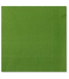 Tovaglioli 3 Veli Verde Prato 33x33 cm 3 confezioni