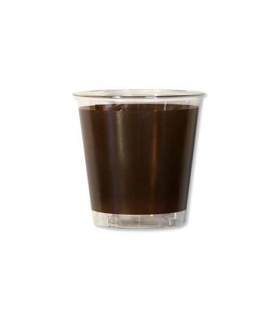 Bicchieri di Plastica Marrone 300 cc