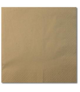 Tovaglioli Tortora 33 x 33 cm 3 confezioni