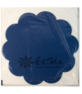 Tovagliette in TNT Smerlate Blu Cobalto 35 cm