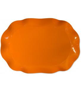 Vassoio Rettangolare Arancione 46x31 cm 1 Pz