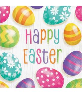 Tovagliolo Easter Eggs 33 x 33 cm 3 confezioni
