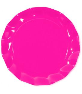 PPiatti Piani di Carta a Petalo Rosa Pink 32,4 cm