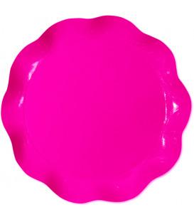 Vassoio Tondo Rosa Pink 40 cm 1 Pz