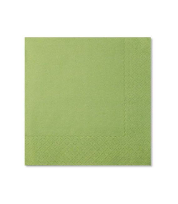 Tovaglioli 3 Veli Verde Perlato