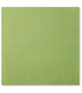 Tovaglioli 3 Veli Verde Pastello 3 confezioni