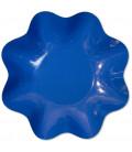 Zuppiera Grande di Carta a Petalo Blu cobalto 35 cm 1 pz