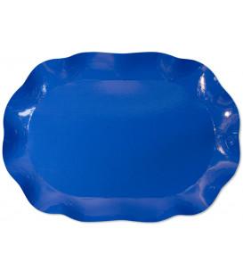 Vassoio Rettangolare Blu cobalto 46x31 cm 1 Pz