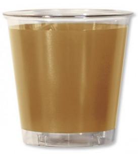 Bicchieri di Plastica Oro Metallizzato 300 cc