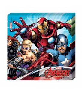 Tovagliolo 33 x 33 cm Avengers Mighty 1 Pz