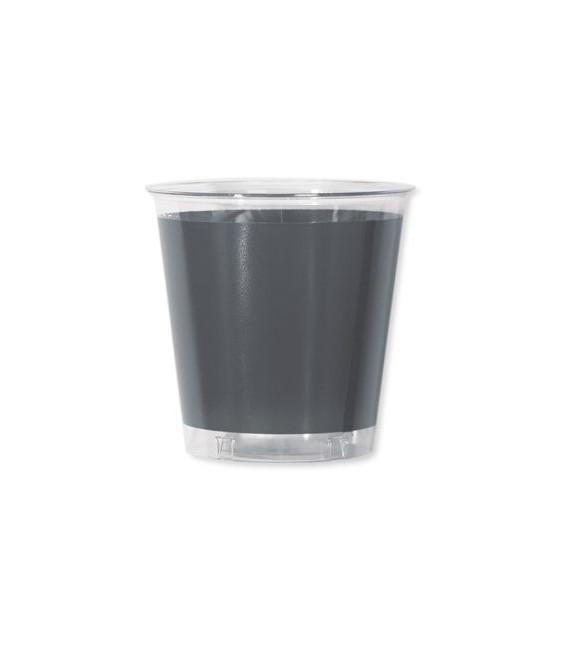Bicchieri di Plastica Argento Metallizzato 300 cc