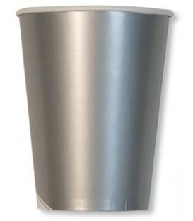 Bicchieri di Carta Argento Metallizzato 250 cc
