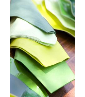 Tovaglioli Verde Scuro 33 x 33 cm 3 confezioni