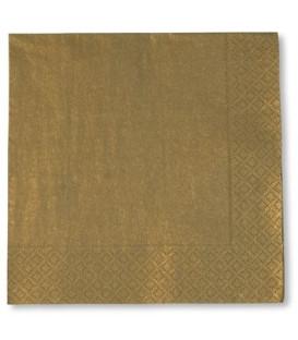 Tovaglioli Oro 33 x 33 cm 3 confezioni