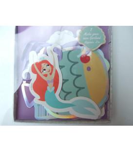 Festone Decorazione MET in carta 2 mt Ariel Under The Sea 1 pz