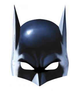 Maschera carta Batman 8 pz