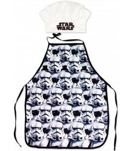 Set Grembiule e Cappello Bambino Star Wars 2 Pz Disney