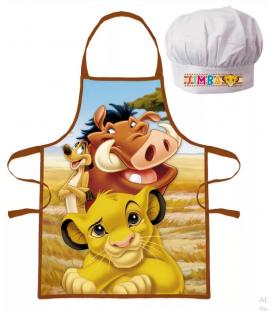 Set Grembiule e Cappello Bambino Il Re Leone 2 Pz Disney