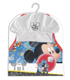 Set Grembiule e Cappello Bambino Topolino 2 Pz Disney