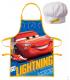Set Grembiule e Cappello Bambino Cars 2 Pz Disney