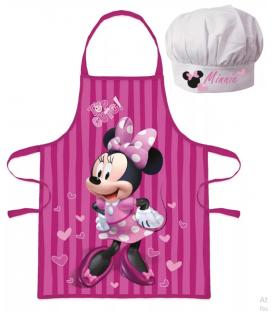 Set Grembiule e Cappello Bambino Minnie 2 Pz Disney