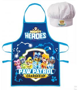 Set Grembiule e Cappello Bambino Paw Patrol 2 Pz