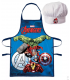 Set Grembiule e Cappello Bambino Avengers 2 Pz Disney