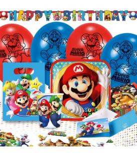 Super Mario Bros Party Set 60 Pz