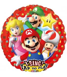 Palloncini Super Mario Bros Music Foil 71 cm 1 Pz
