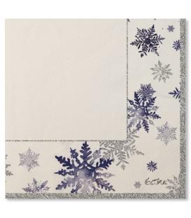 Tovaglioli Snowflakes 33 x 33 cm